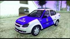 Chevrolet Corsa Classic Policia de Santa Fe para GTA San Andreas