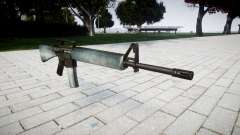 O M16A2 rifle de gelo