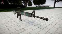 O M16A2 rifle [óptica] varsóvia