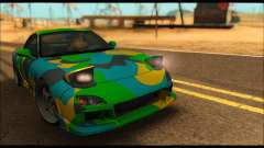 Mazda RX-7 Camo para GTA San Andreas