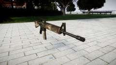 O M16A2 rifle de berlim