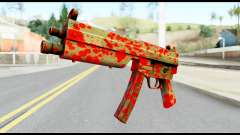 MP5 with Blood para GTA San Andreas