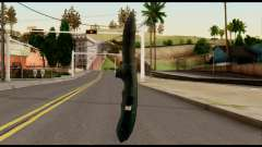 Solidsnake CQC Knife from Metal Gear Solid para GTA San Andreas