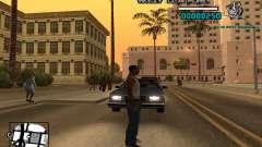 C-HUD Weezy para GTA San Andreas