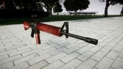O M16A2 rifle [óptica] vermelho