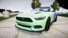 Ford Mustang GT 2015 Custom Kit falken para GTA 4