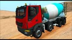 Iveco Trakker 2014 Concrete (IVF & ADD)