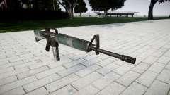 O M16A2 rifle de varsóvia