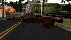 Natal Minigun para GTA San Andreas