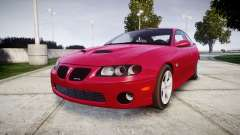 Pontiac GTO 2006 18in wheels