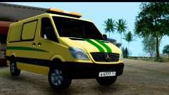 Mercedes-Benz Sprinter Coleção Rússia para GTA San Andreas