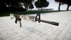 O M16A2 rifle yukon