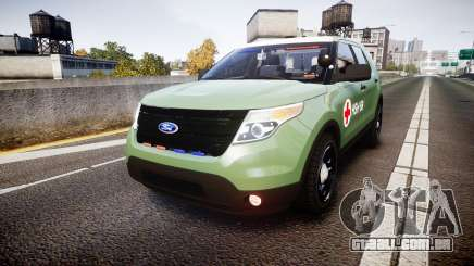 Ford Explorer 2013 Army [ELS] para GTA 4
