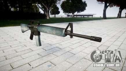 O M16A2 rifle de gelo para GTA 4
