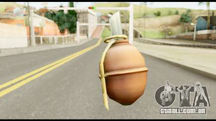 MGS3 Grenade from Metal Gear Solid para GTA San Andreas