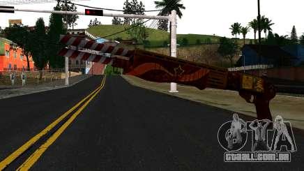 Natal Combat Shotgun para GTA San Andreas