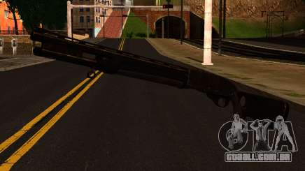 Shotgun from GTA 4 para GTA San Andreas