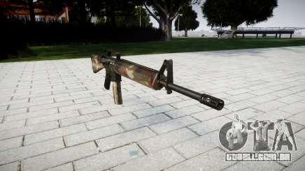 O M16A2 rifle de berlim para GTA 4