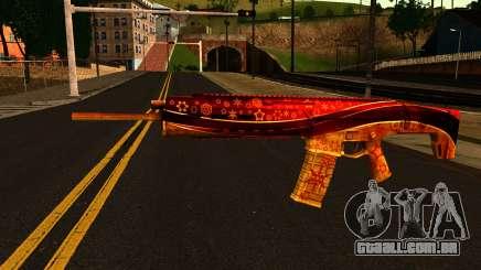 De Véspera de Ano novo Rifle de Assalto para GTA San Andreas