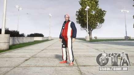 Roupas Americano ditador para GTA 4