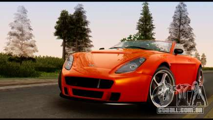 GTA 5 Dewbauchee Rapid GT Cabrio [IVF] para GTA San Andreas