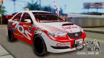 Toyota Vios TRD Racing v2 para GTA San Andreas