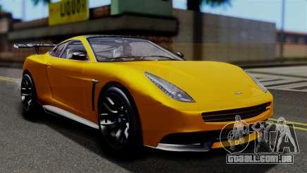GTA 5 Dewbauchee Massacro Racecar SA Mobile para GTA San Andreas