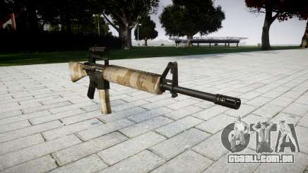 O M16A2 rifle [óptica] nevada para GTA 4