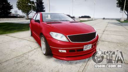 GTA V Benefactor Schafter body wide rims para GTA 4