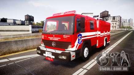 Mercedes-Benz Atego Indonesian Fire Truck [ELS] para GTA 4