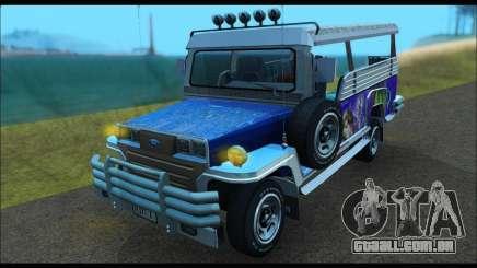 Jeepney from Binan para GTA San Andreas