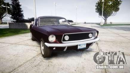 Ford Mustang GT Fastback 1968 para GTA 4