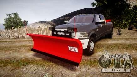 Dodge Ram 3500 Plow Truck [ELS] para GTA 4