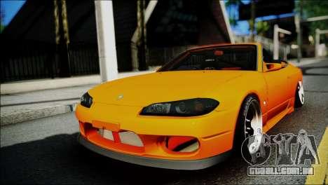 Nissan Silvia S15 Varietta para GTA San Andreas
