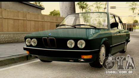 BMW M5 E28 Edit para GTA San Andreas