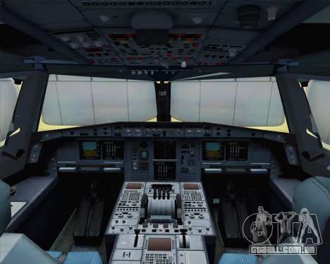 Airbus A380-800 F-WWDD Not Painted para GTA San Andreas vista traseira