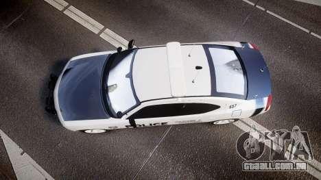 Dodge Charger 2006 Sheriff Dukes [ELS] para GTA 4 vista direita