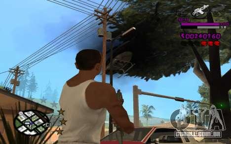 C-HUD by LoMoKo para GTA San Andreas por diante tela