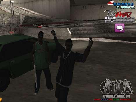 C-HUD TAWER by Vitya para GTA San Andreas segunda tela
