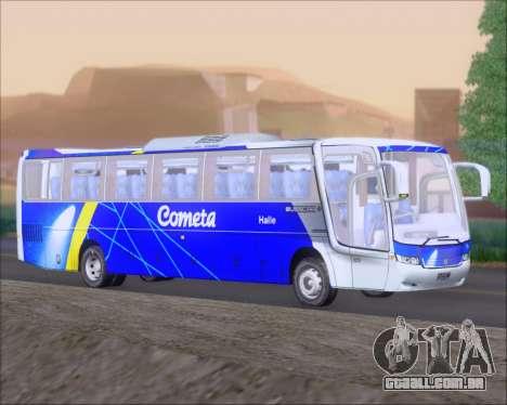 Busscar Vissta Buss LO Cometa para GTA San Andreas traseira esquerda vista