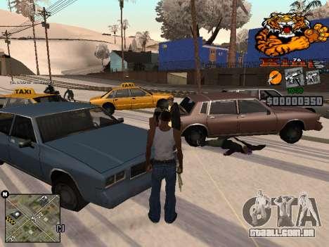 C-HUD King para GTA San Andreas segunda tela