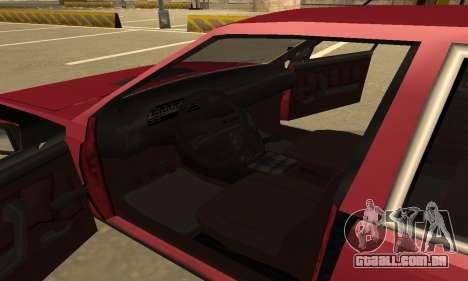 FSO Polonez 1500 para GTA San Andreas vista inferior