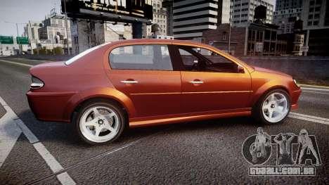 Declasse Premier Sport R para GTA 4 esquerda vista
