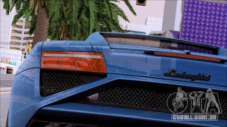 ClickClacks ENB V1 para GTA San Andreas twelth tela