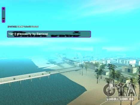 SampGUI Ballas Gang para GTA San Andreas