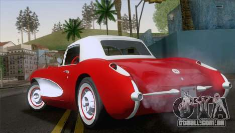 Chevrolet Corvette C1 1957 para GTA San Andreas
