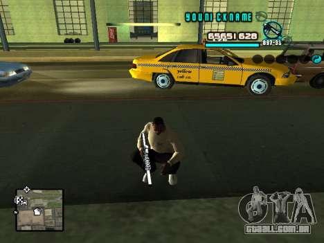 C-HUD Cosmos para GTA San Andreas segunda tela