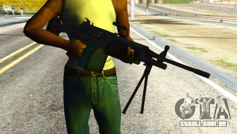 M16 from Global Ops: Commando Libya para GTA San Andreas terceira tela