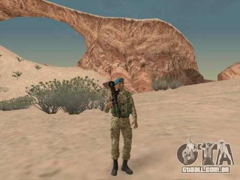 Granadeiro de tropas aerotransportadas da Federa para GTA San Andreas
