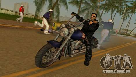 Tommi Black Skin para GTA Vice City segunda tela
